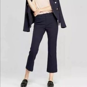 A New Day Blue Stretch Flare Ankle Pants 10